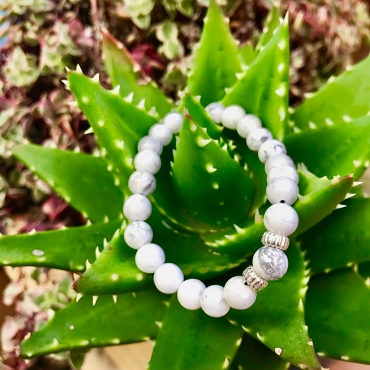 Howlite Peaceful Collection.