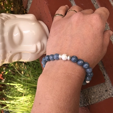 Blue Agate Bracelet collection